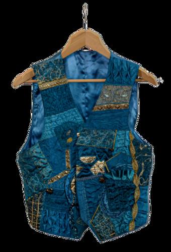 'Blue Gold Vest'