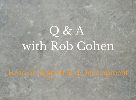 Interview with Rob Cohen – Head of Support and Development at Enable