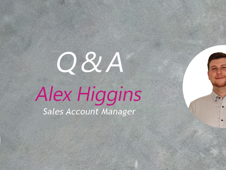Interview with Alex Higgins - Sales Account Manager