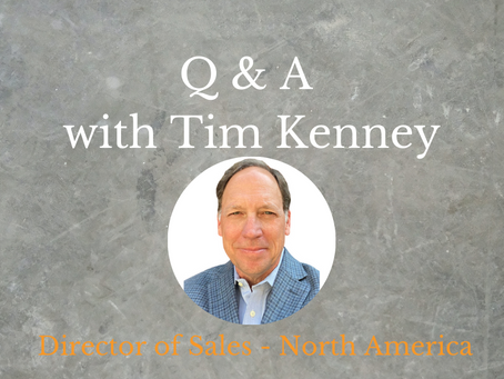 Interview with Tim Kenney - Director of Sales, North America