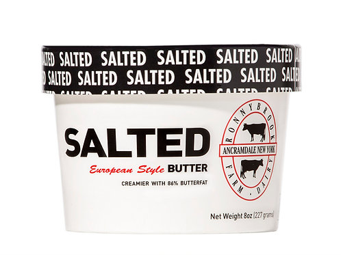 Ronnybrook Salted Butter (8oz)