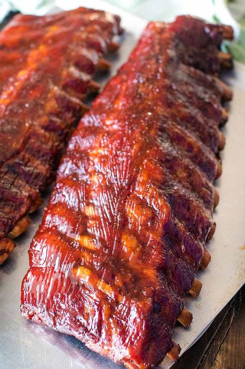 GHK Honey Brushed BBQ Ribs (Half Rack)