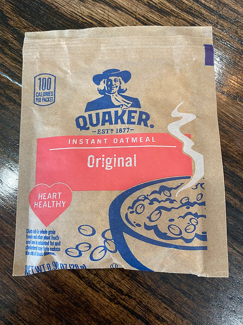 Quaker Instant Oatmeal - Original (1 packet)