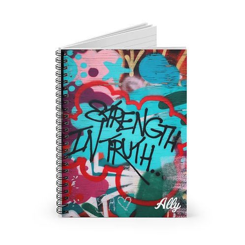 Strength in Truth Spiral Notebook - Ruled Line