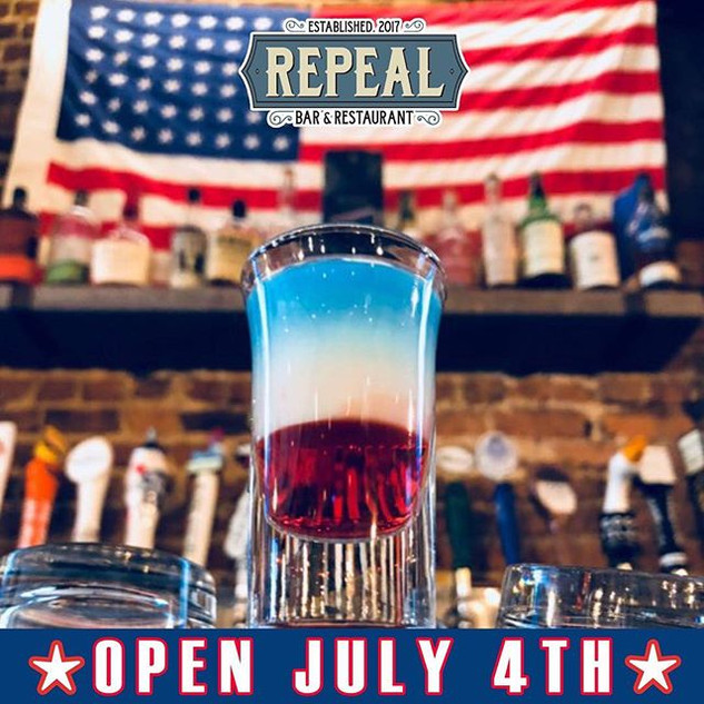 WE WILL BE OPEN ALL DAY JULY 4! Come cel