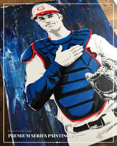 Joe Mauer Ryan Fors Painting Stencil Minnesota Twins