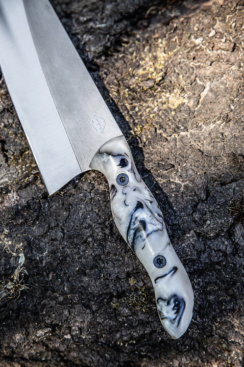 Marble Moustache knife
