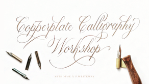 Calligraphy Workshop with Paul P.Writeway