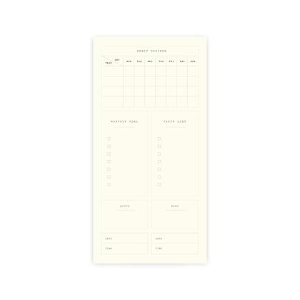"Planner Sticker | SET A : ""HABIT TRACKER"""