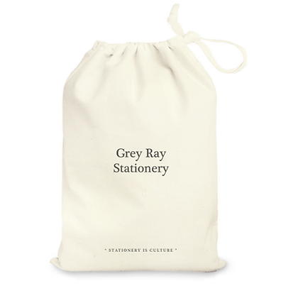 Grey Ray String Bag