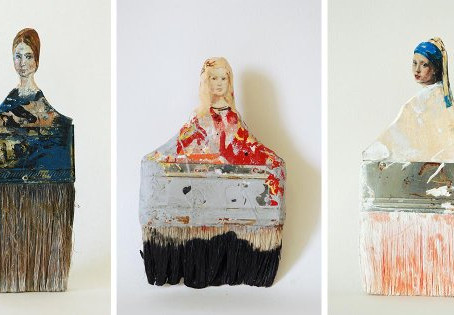 "Rebecca Szeto ศิลปินที่แปลง ""แปรง"" เป็นงานศิลปะ"