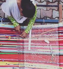 Hand-weaving 2015