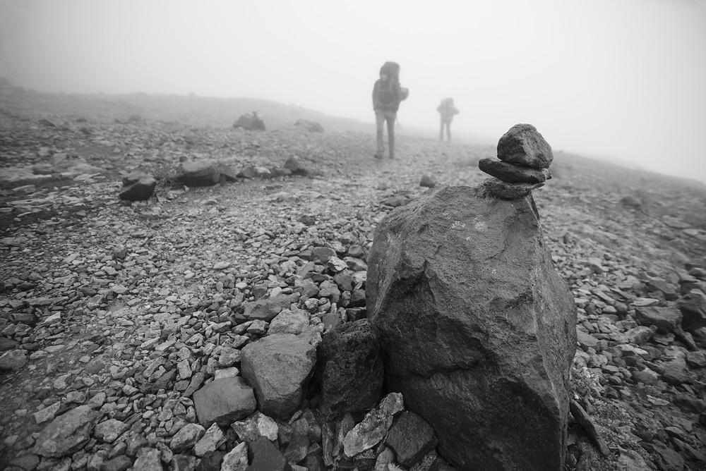 Foggy Cairns