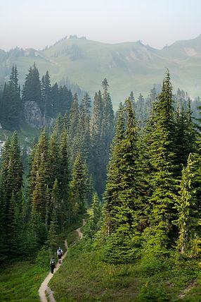 Hiking Green Mountai Trail