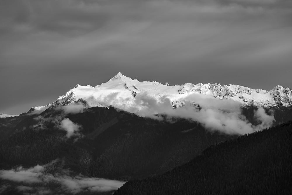 Mount Shuksan in fall