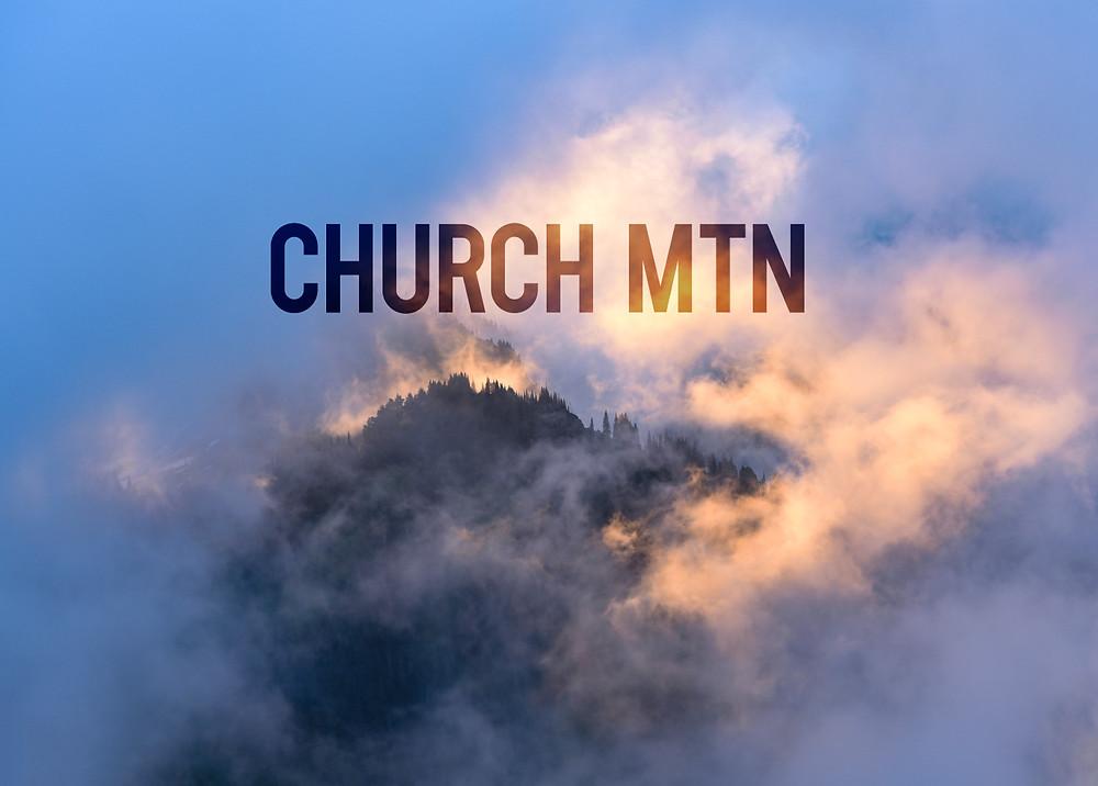 Church Mountain sunrise cascades