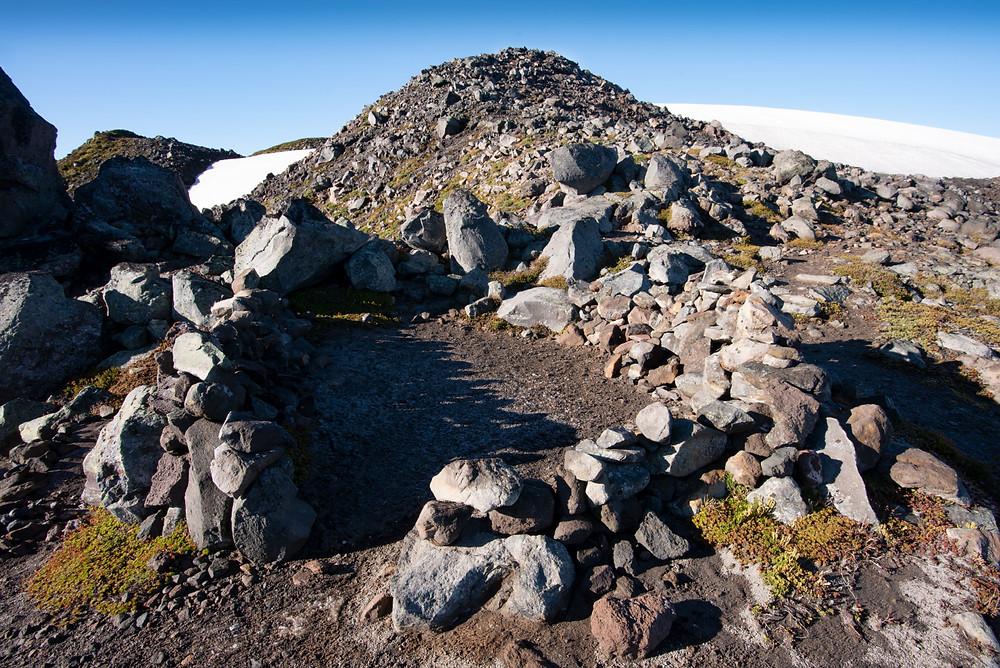 Campsite on East Portal Mount Baker