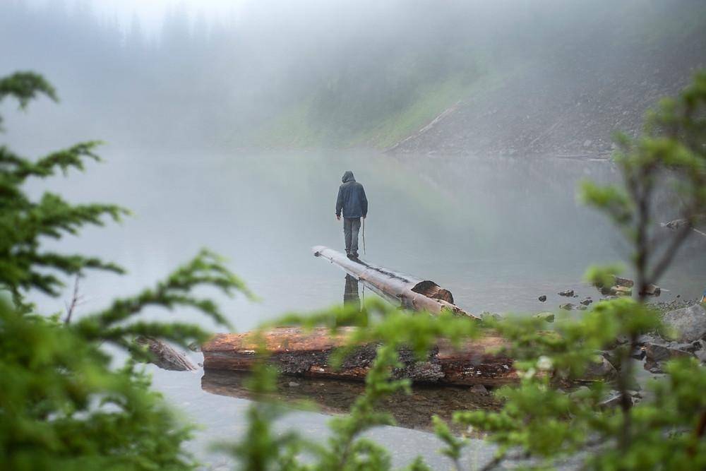 spear fishing north lake
