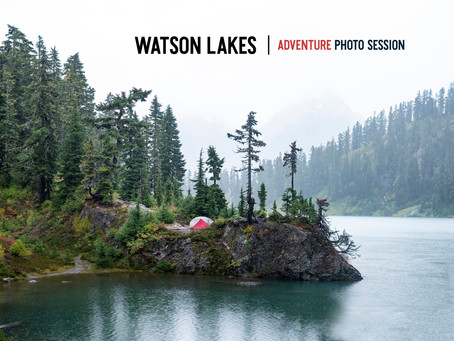 Watson Lakes Adventure Photo Session