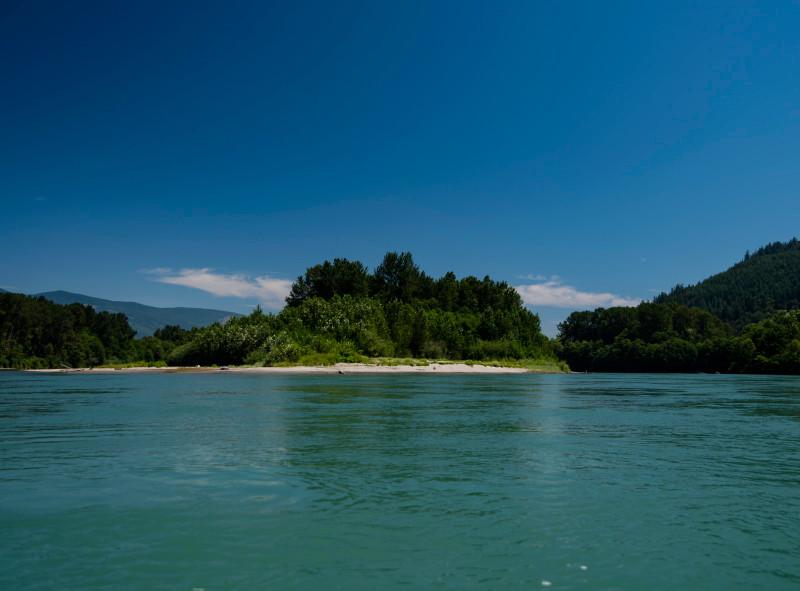unnamed island skagit river