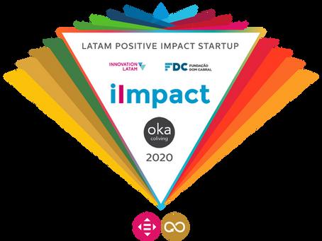 2020 Innovation Latam Awards - Ganhamos o Selo de Startup com Impacto Positivo!