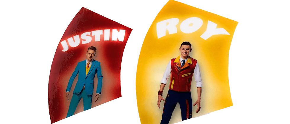 De Roy en Justin Bedrogkaarten