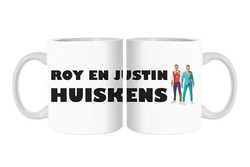 Roy en Justin Huiskens Mok