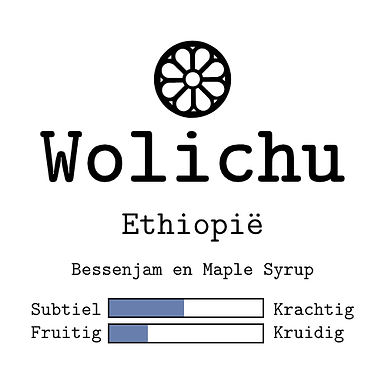 Ethiopie Wolichu Wachu Natural