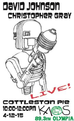Live on KAOS FM 4.12.15