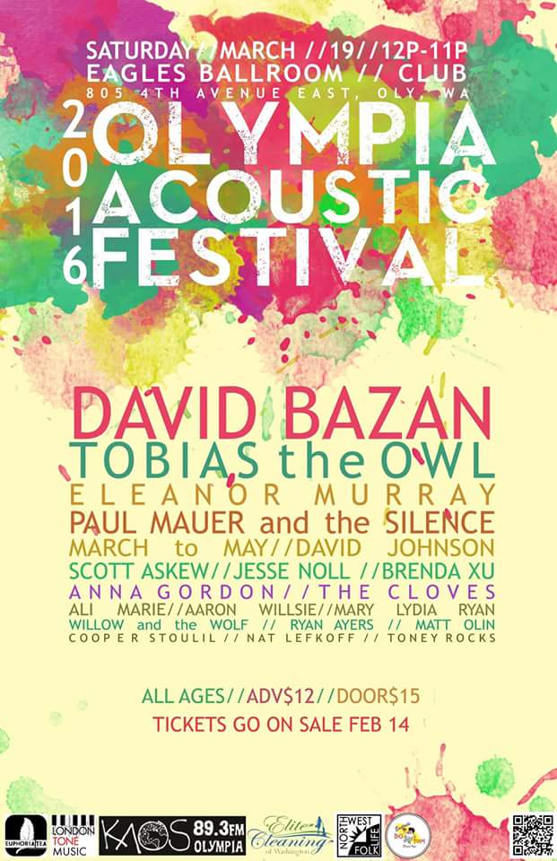 Olympia Acoustic Festival 3.19.16