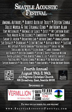 Seattle Acoustic Festival 8.26.17