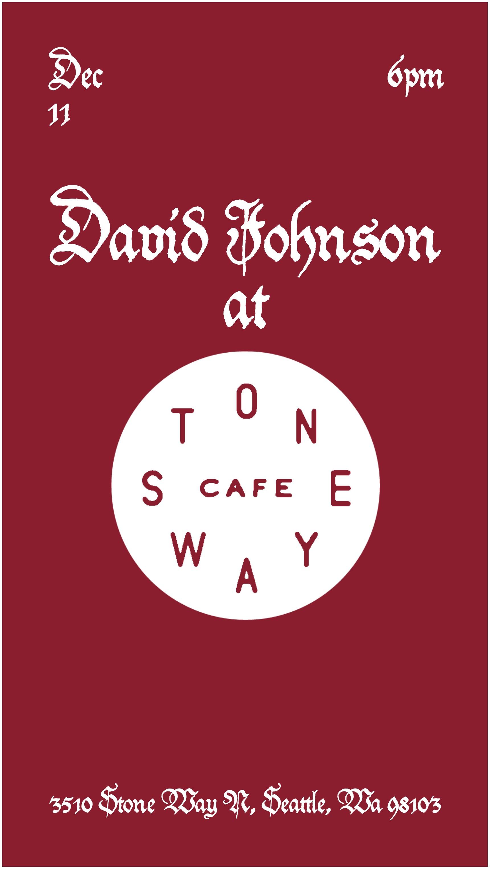 Stone Way Cafe 12.11.17