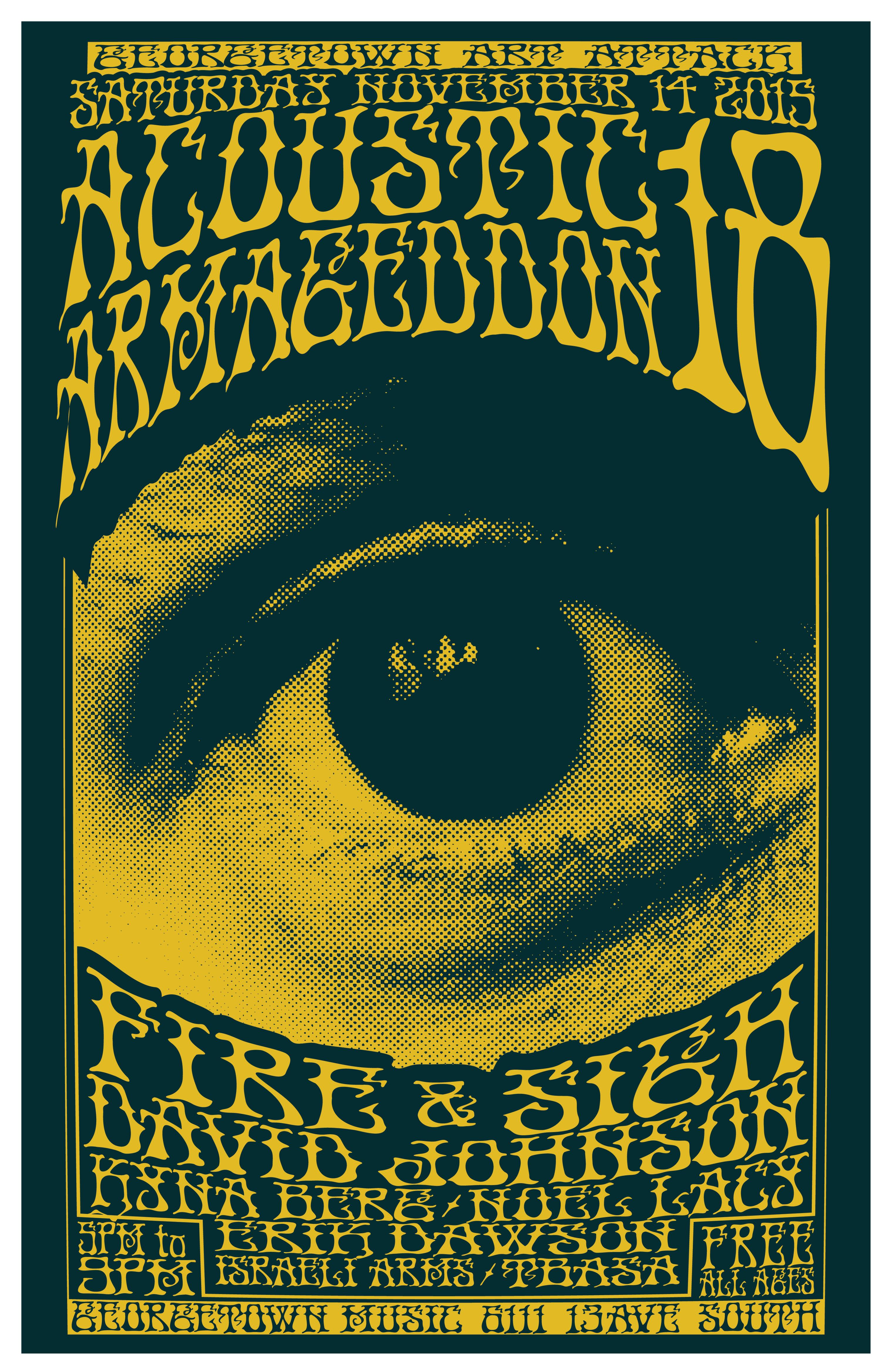 Acoustic Armageddon 18, 11.24.15