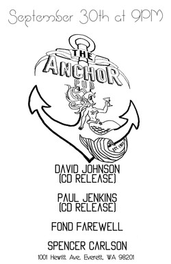 live @ Anchor Pub 9.30.16