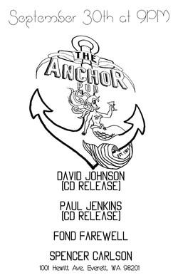 live @ Anchor Pub 9.30.16