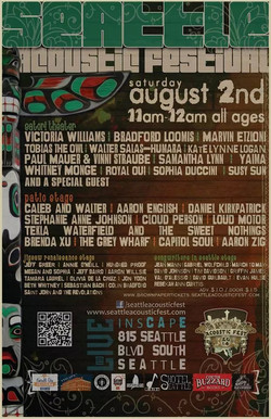 Seattle Acoustic Festival 8.2.14