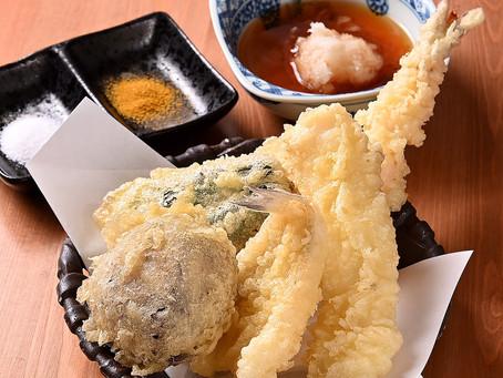 天ぷらはやっぱり美味い!!