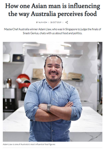 CNA Lifestyle interview with Adam Liau, guest judge for Snack Genius 2019