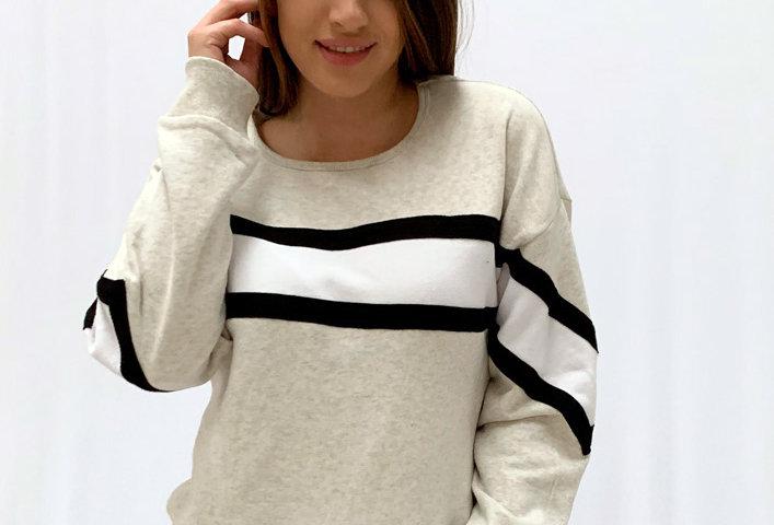 Saco White Stripe Two