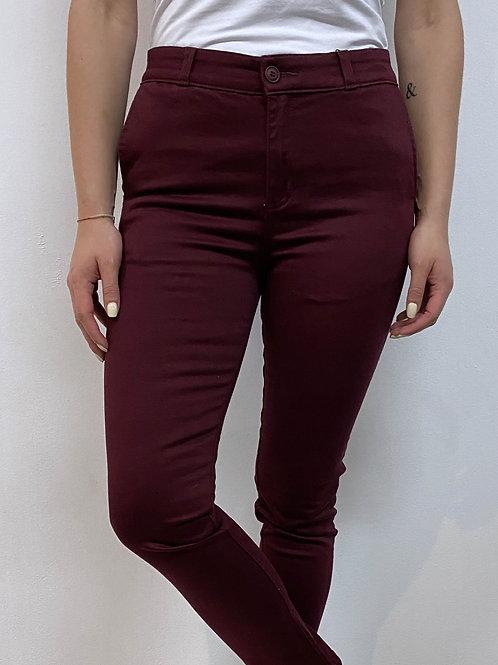 Pantalón Sharp Wine