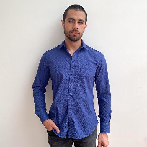 Camisa Miniprint Poule