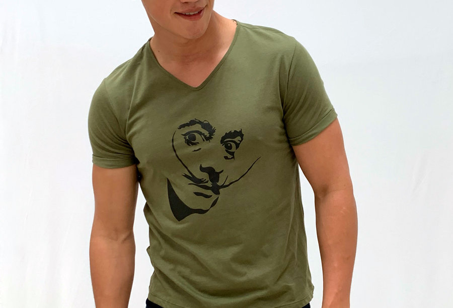 Camiseta Dalí