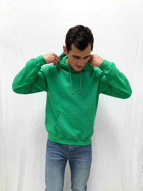 Hoodie Basic Green