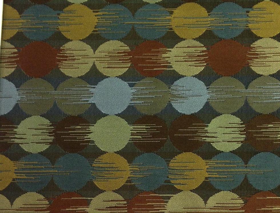 Modern Ikat Geometric Dots