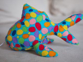 Sharkie - Paulinchen´s neuer Spielgefährte