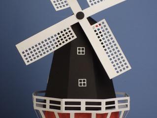 Etwas aus der Heimat / the windmill