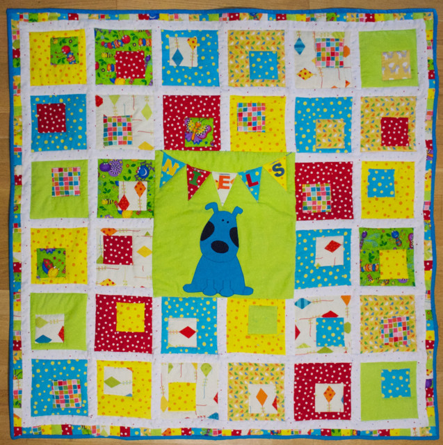Niels baby quilt