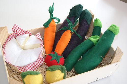 Cagette Légumes composé + 1 BOF