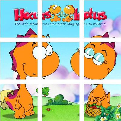 Hocus and Lotus i dinocrocs che insegnano le lingue ai bambini