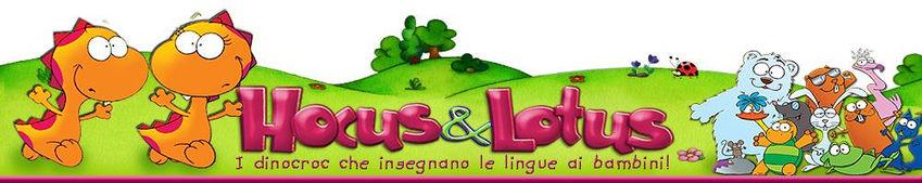 Hocus&Lotus i dinocrocs he insegnano le lingue ai bambini